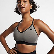 Womens Nike Pro Indy Bra Sports Bra Bras - Carbon Heather L