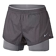 Womens Nike Flex Elevated 2-in-1 Track Shorts