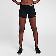 "Womens Nike Pro 3"" Short Compression & Fitted Shorts"