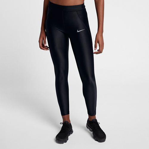 Womens Nike Power Speed 7/8 Tight Tights & Leggings Pants - Black XL