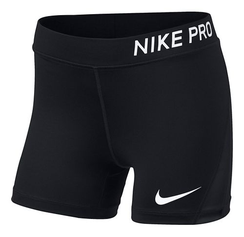 Nike Girls Pro Boy Short Compression & Fitted Shorts - Black YM
