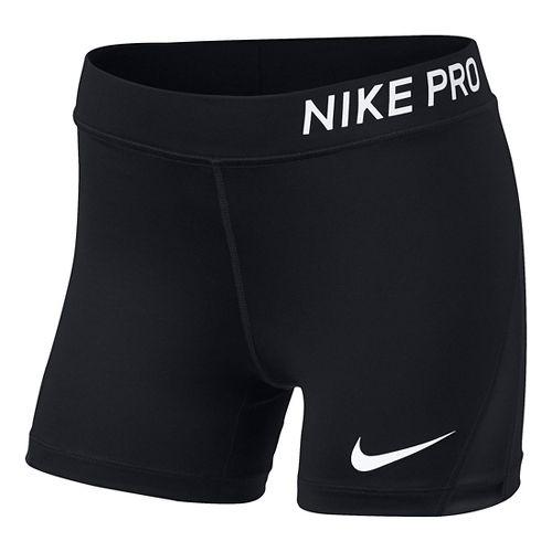 Nike Girls Pro Boy Short Compression & Fitted Shorts - Black YXL