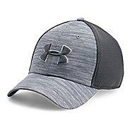 Mens Under Armour Golf Mesh Stretch 2.0 Cap Headwear - Overcast Grey M/L