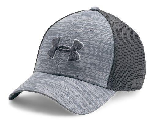 Mens Under Armour Golf Mesh Stretch 2.0 Cap Headwear - Overcast Grey L/XL