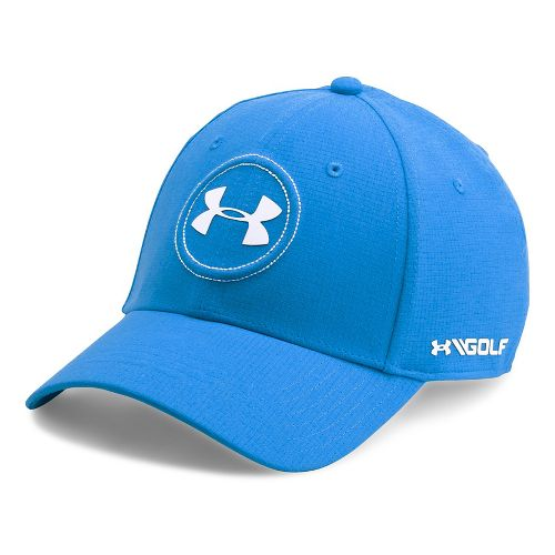 Mens Under Armour Jordan Speith UA Tour Cap Headwear - Mako Blue L/XL