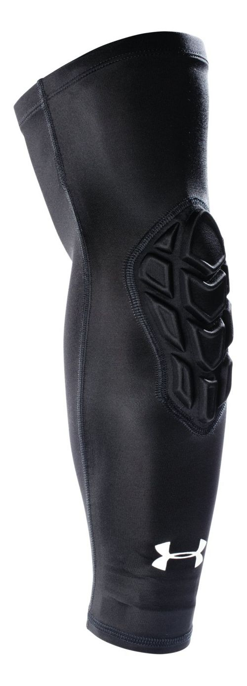 Mens Under Armour Padded Shooter Sleeve Handwear - Black S/M