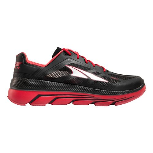 Mens Altra Duo Running Shoe - Black/Red 11