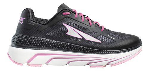 Womens Altra Duo Running Shoe - Black/White 10