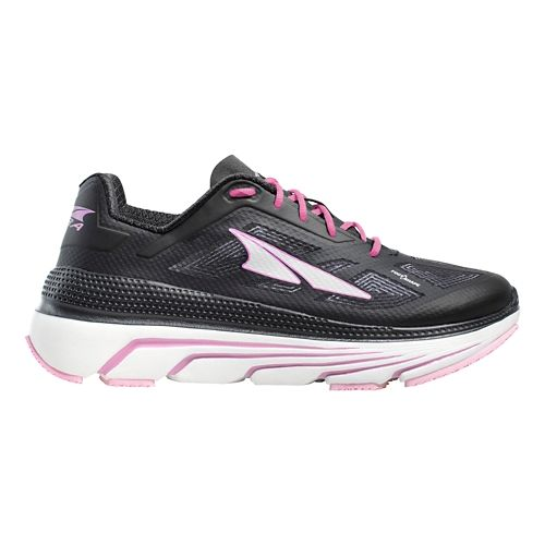 Womens Altra Duo Running Shoe - Black/White 10