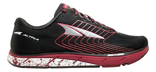 Mens Altra Instinct 4.5 Running Shoe - Black/Red 9