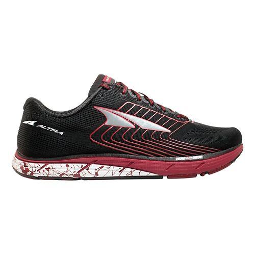 Mens Altra Instinct 4.5 Running Shoe - Black/Red 11.5