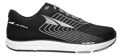 Womens Altra Intuition 4.5 Running Shoe - Black/White 8.5