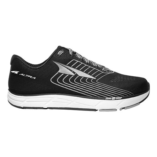 Womens Altra Intuition 4.5 Running Shoe - Black/White 9.5
