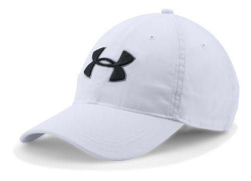 Mens Under Armour Chino Cap Headwear - White
