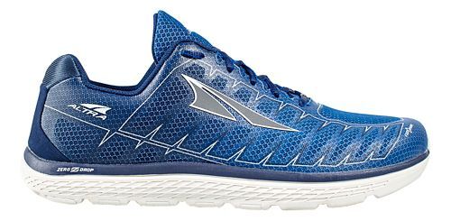 Mens Altra One V3 Running Shoe - Blue/Grey 12