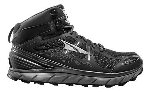 Mens Altra Lone Peak 3.5 Mid Mesh Trail Running Shoe - Black 8.5