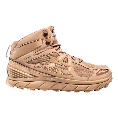Mens Altra Lone Peak 3.5 Mid Mesh Trail Running Shoe - Sand 8.5