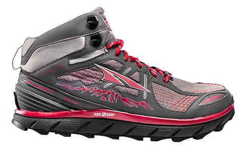 Mens Altra Lone Peak 3.5 Mid Mesh Trail Running Shoe - Red 9
