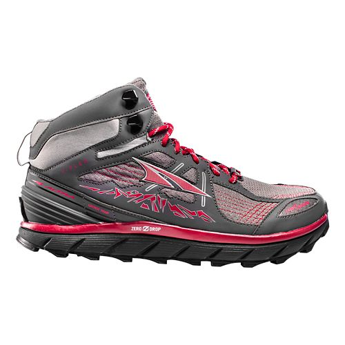 Mens Altra Lone Peak 3.5 Mid Mesh Trail Running Shoe - Red 9.5