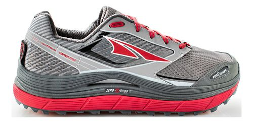 Mens Altra Olympus 2.5 Trail Running Shoe - Black/Red 11