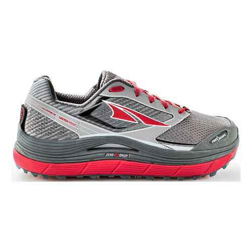 Mens Altra Olympus 2.5 Trail Running Shoe - Black/Red 10.5