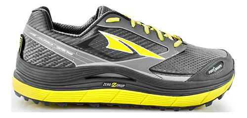 Mens Altra Olympus 2.5 Trail Running Shoe - Grey/Lime 9.5