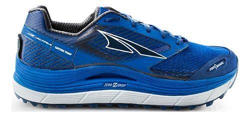 Mens Altra Olympus 2.5 Trail Running Shoe - Blue 9.5