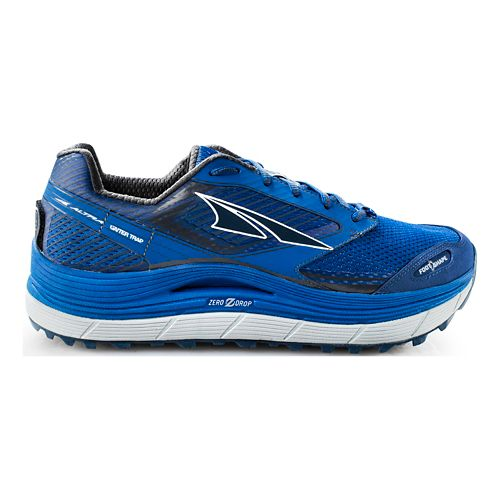Mens Altra Olympus 2.5 Trail Running Shoe - Blue 10