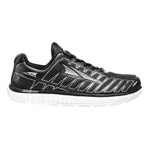 Womens Altra One V3 Running Shoe - Black 10.5
