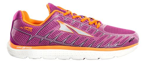 Womens Altra One V3 Running Shoe - Purple/Orange 6.5