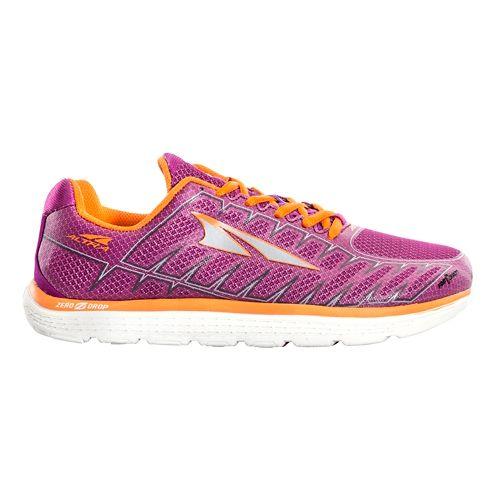 Womens Altra One V3 Running Shoe - Purple/Orange 6.5