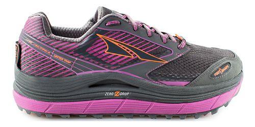 Womens Altra Olympus 2.5 Trail Running Shoe - Grey/Purple 10