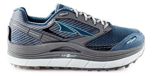 Womens Altra Olympus 2.5 Trail Running Shoe - Grey/Blue 8.5