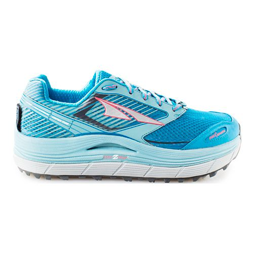 Womens Altra Olympus 2.5 Trail Running Shoe - Blue 9