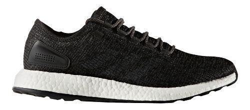 Mens adidas Pure Boost Running Shoe - Black/Grey 7.5