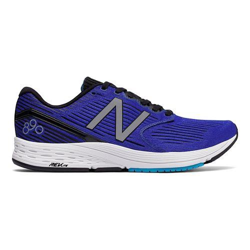 Mens New Balance 890v6 Running Shoe - Blue/Black 13