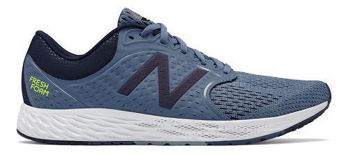 Mens New Balance Fresh Foam Zante v4 Running Shoe - Porcelain Blue 10