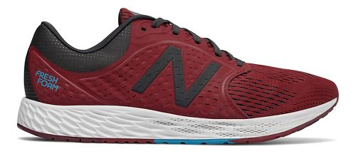 Mens New Balance Fresh Foam Zante v4 Running Shoe - Scarlet 13