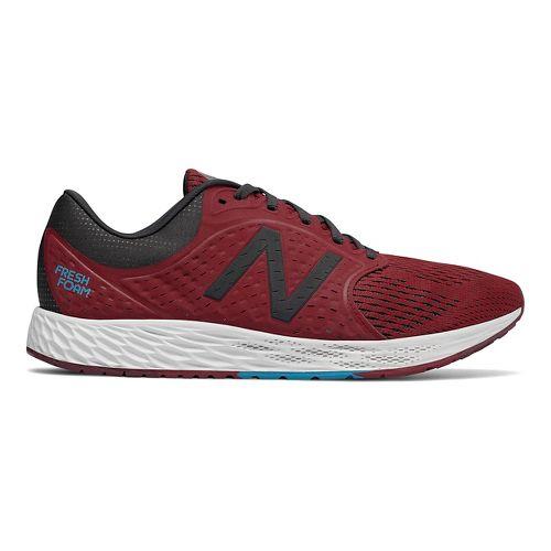 Mens New Balance Fresh Foam Zante v4 Running Shoe - Scarlet 12.5