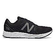 Womens New Balance Fresh Foam Zante v4 Running Shoe - Black/Silver 5