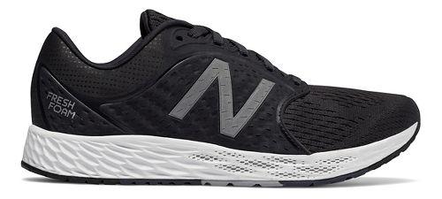 Womens New Balance Fresh Foam Zante v4 Running Shoe - Black/Silver 9.5