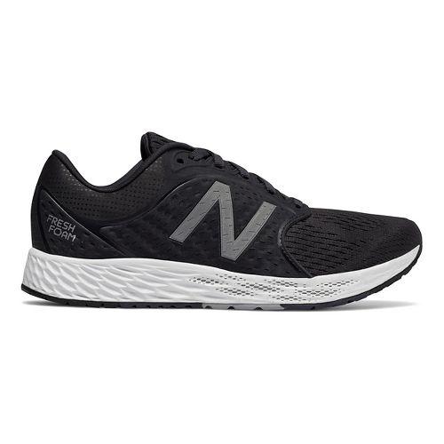 Womens New Balance Fresh Foam Zante v4 Running Shoe - Black/Silver 5.5