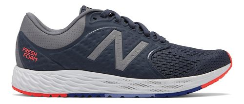 Womens New Balance Fresh Foam Zante v4 Running Shoe - Gunmetal/Black 10