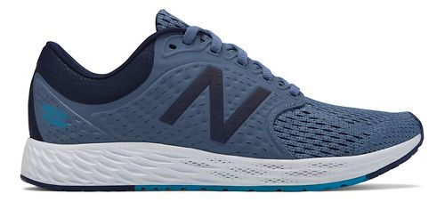 Womens New Balance Fresh Foam Zante v4 Running Shoe - Porcelain Blue 7.5