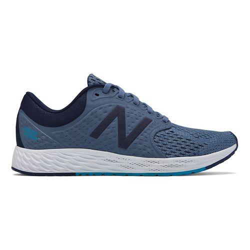 Womens New Balance Fresh Foam Zante v4 Running Shoe - Porcelain Blue 10.5