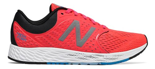 Womens New Balance Fresh Foam Zante v4 Running Shoe - Coral 6.5