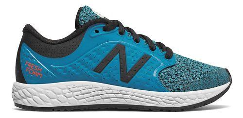 Kids New Balance Fresh Foam Zante v4 Running Shoe - Blue/Black 6Y
