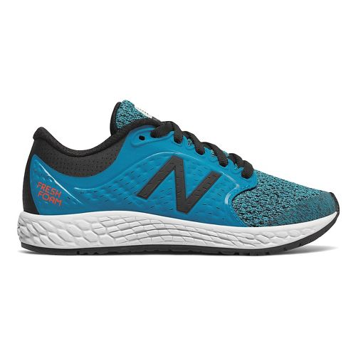 Kids New Balance Fresh Foam Zante v4 Running Shoe - Blue/Black 5.5Y