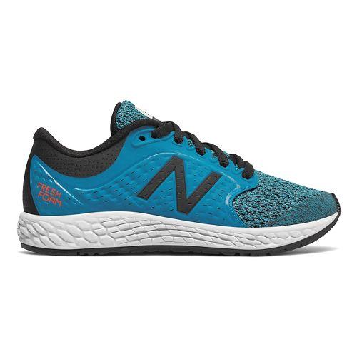 Kids New Balance Fresh Foam Zante v4 Running Shoe - Blue/Black 5Y