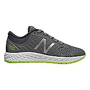 Kids New Balance Fresh Foam Zante v4 Running Shoe - Grey/Green 4.5Y
